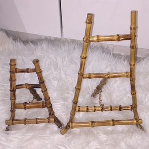 Real Bamboo easel picture frames